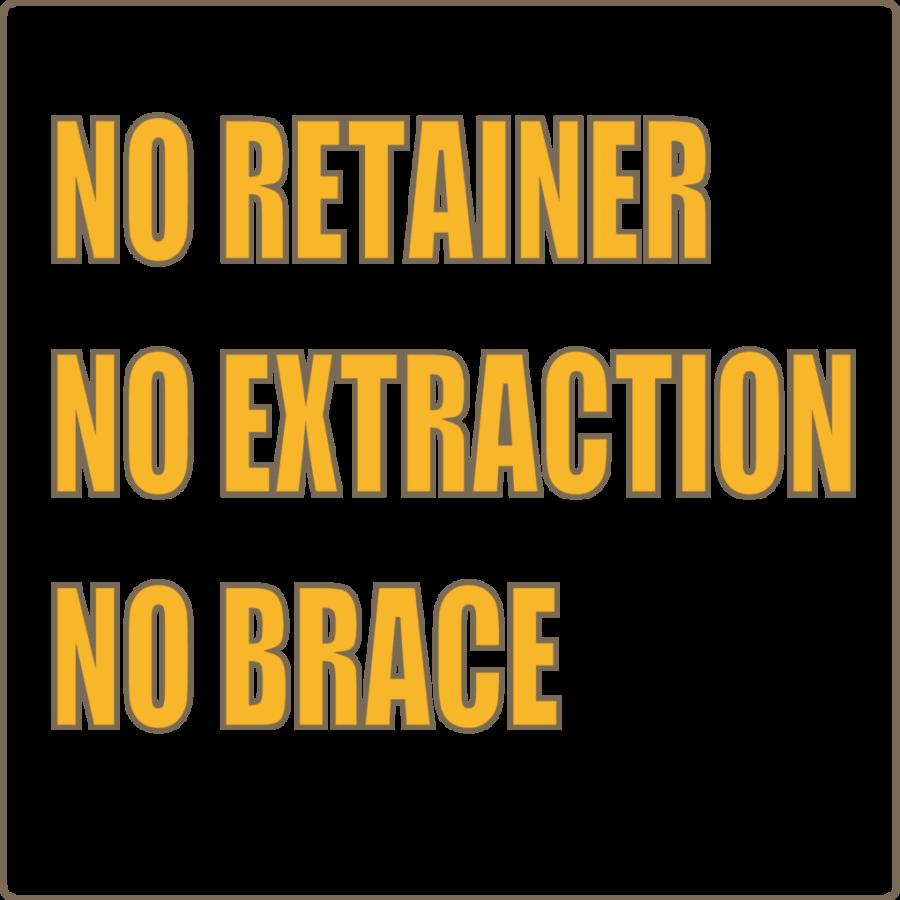 リテーナーなし、抜歯なし、2期矯正なし